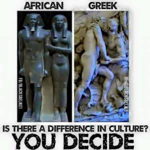 African vs Greek